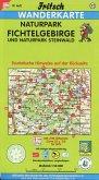 Fritsch Karte Naturpark Fichtelgebirge und Naturpark Steinwald