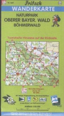 Fritsch Karte - Naturpark Oberer Bayerischer Wa...