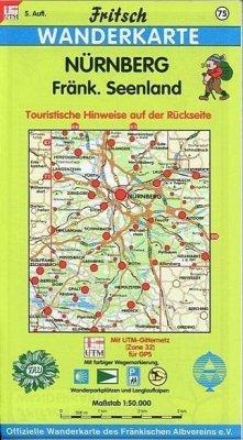 Fritsch Karte - Nürnberg, Fränkisches Seenland
