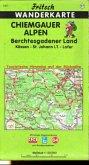 Fritsch Karte - Chiemgauer Alpen, Berchtesgadener Land, Kössen, Sankt Johann in Tirol, Lofer