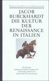 Die Kultur der Renaissance in Italien / Bibliothek der Geschichte und Politik Bd.8