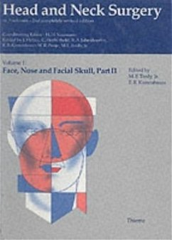 Head and Neck Surgery I/2. Face, Nose, and Facial Skull - Naumann, Hans