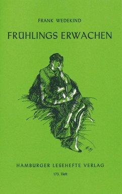 Frühlings Erwachen - Wedekind, Frank