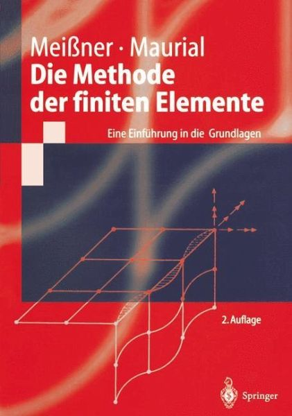 Die methode der finiten elemente von udo mei ner andreas for Finite elemente in der baustatik