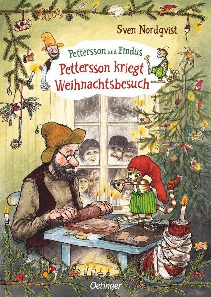 Pettersson kriegt Weihnachtsbesuch - Nordqvist, Sven