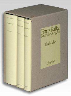 Tagebücher. Kritische Ausgabe. Textband / Apparatband / Kommentarband - Kafka, Franz