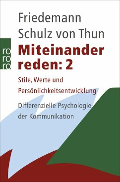 Miteinander reden Bd.2 - Schulz von Thun, Friedemann
