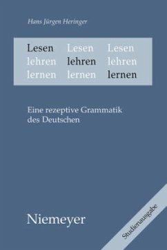 Lesen lehren lernen - Heringer, Hans Jürgen