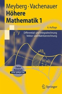 Höhere Mathematik 1 - Meyberg, Kurt; Vachenauer, Peter