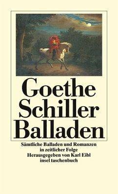 Sämtliche Balladen und Romanzen - Goethe, Johann Wolfgang von; Schiller, Friedrich von