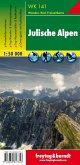 Freytag & Berndt Wander-, Rad- und Freizeitkarte Julische Alpen