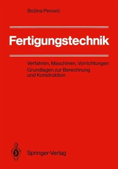 Fertigungstechnik - Perovic, Bozina