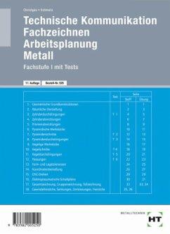 Technische Kommunikation. Fachstufe 1 mit Tests - Christgau, Hans; Schmatz, Elmar
