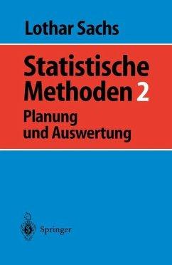 Statistische Methoden 2 - Sachs, Lothar