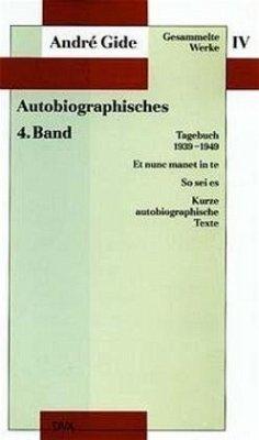 Tagebuch 1939 - 1949 - Gide, André