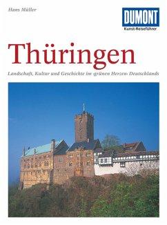 DuMont Kunst-Reiseführer Thüringen - Müller, Hans