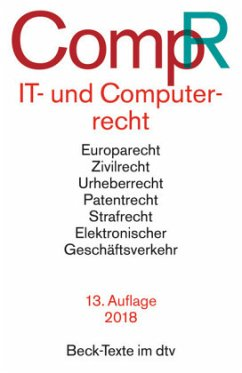 IT- und Computerrecht - CompR - Schneider, Jochen