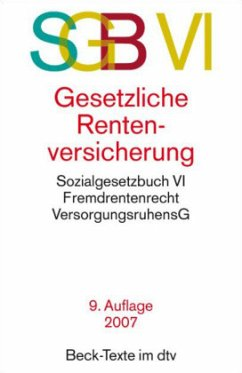 Gesetzliche Rentenversicherung. SGB VI