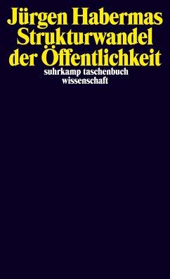 Strukturwandel der Öffentlichkeit - Habermas, Jürgen