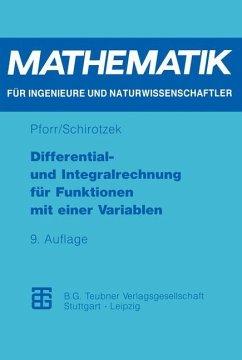 Differential- und Integralrechnung für Funktion...