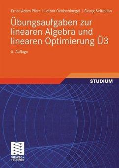 Übungsaufgaben zur linearen Algebra und lineare...