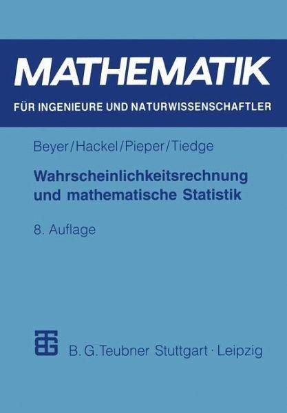 wahrscheinlichkeitsrechnung und mathematische statistik