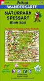 Fritsch Karte Naturpark Spessart, Blatt Süd