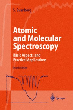 Atomic and Molecular Spectroscopy - Svanberg, Sune