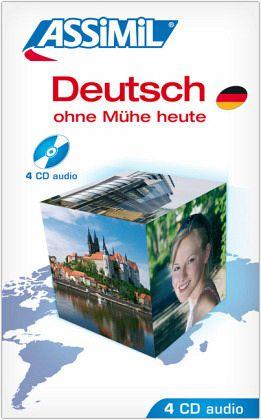 assimil deutsch ohne m he heute 4 audio cds h rb cher. Black Bedroom Furniture Sets. Home Design Ideas