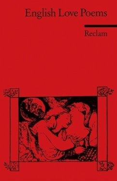 English Love Poems - König, Eva M. (Hrsg.)