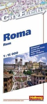 Hallwag City Flash Rom / Roma / Rome