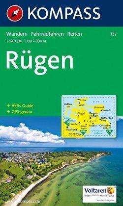 Karte Rügen.Kompass Karte Rügen