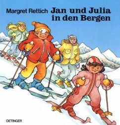 Jan und Julia in den Bergen - Rettich, Margret