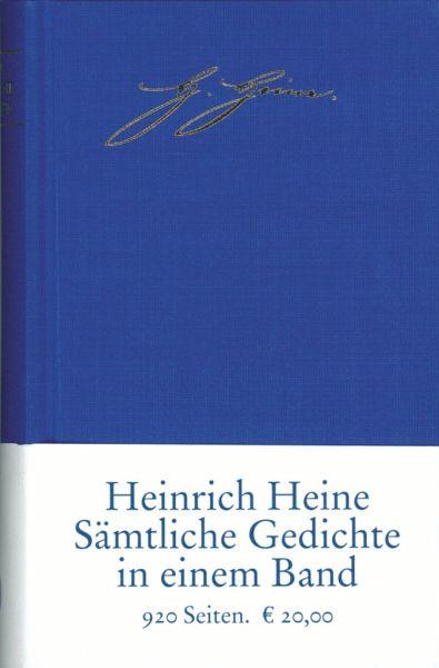 Sämtliche Gedichte in zeitlicher Folge - Heine, Heinrich