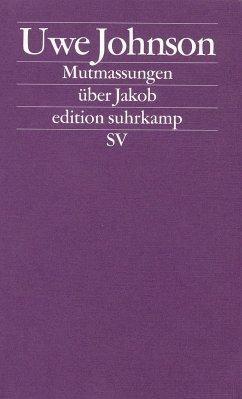 Mutmassungen über Jakob - Johnson, Uwe