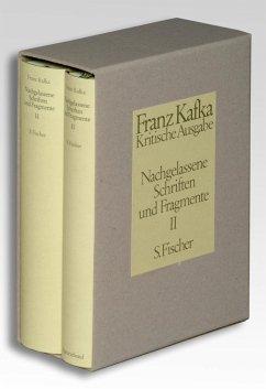 Nachgelassene Schriften und Fragmente II. Kritische Ausgabe - Kafka, Franz