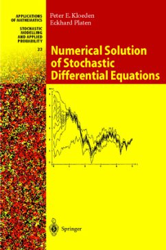 Numerical Solution of Stochastic Differential E...