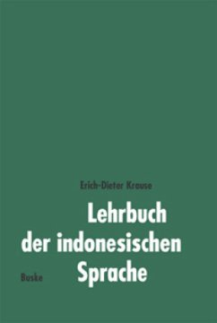 Lehrbuch der indonesischen Sprache - Krause, Erich-Dieter