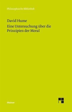 Untersuchung über die Prinzipien der Moral - Hume, David