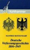 Deutsche Verfassungsgeschichte 1806 - 1949