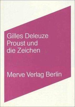 Proust und die Zeichen - Deleuze, Gilles