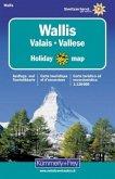 Kümmerly+Frey Karte Wallis; Valais; Vallese