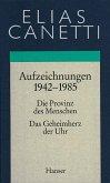 Gesammelte Werke 04. Aufzeichnungen 1942 - 1985