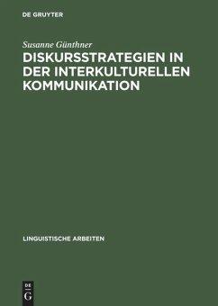 Diskursstrategien in der interkulturellen Kommunikation