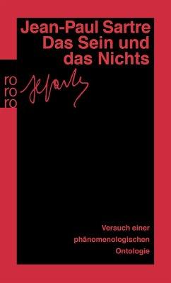 Das Sein und das Nichts - Sartre, Jean-Paul