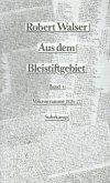 Mikrogramme aus den Jahren 1926-1927 / Aus dem Bleistiftgebiet, 6 Bde. Bd.4
