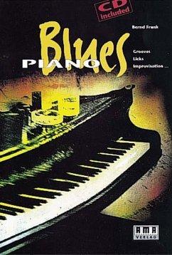Blues Piano, m. CD-Audio - Frank, Bernd
