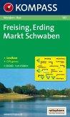 KOMPASS Wanderkarte Freising - Erding - Markt Schwaben