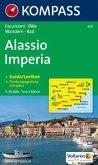 Kompass Karte Alassio, Imperia
