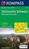 Kompass Karte Sächsische Schweiz, Westliche Oberlausitz